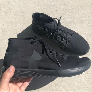 Under Armour Black High-Top Training Shoes